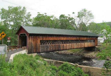 Covered Bridge Gilberville