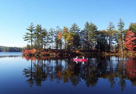 Tully Lake in Royalston