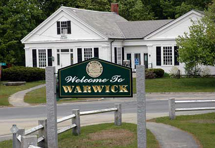 Welcome to Warwick Sign