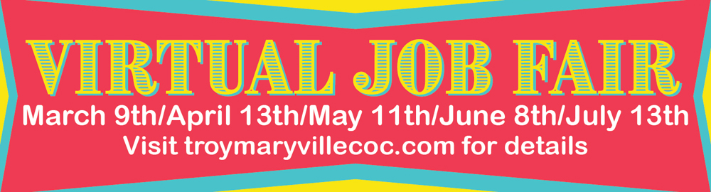 Virtual Job Fairs by Troy Maryville St Jacob Marine Chamber