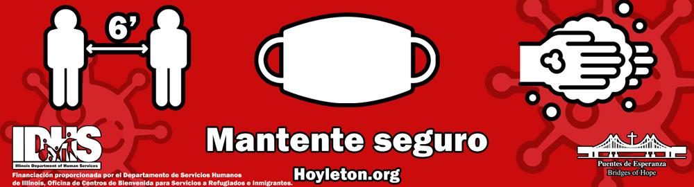 Hoyleton - Covid Protection in Spanish