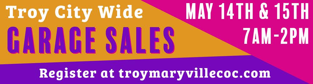 Troy City Wide Garage Sale