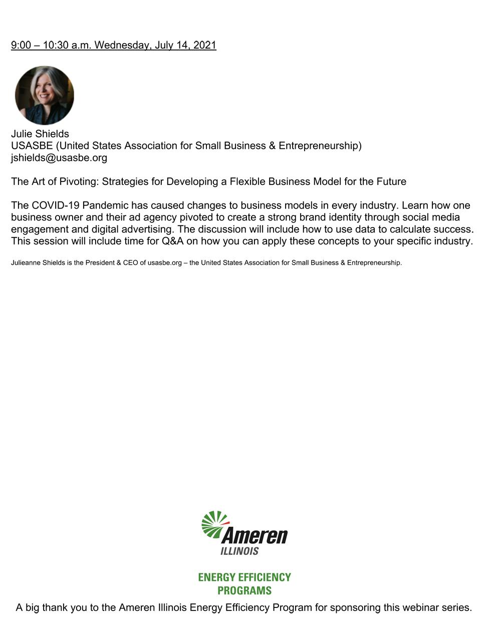 Tools for Success Webinar July 14, 2021