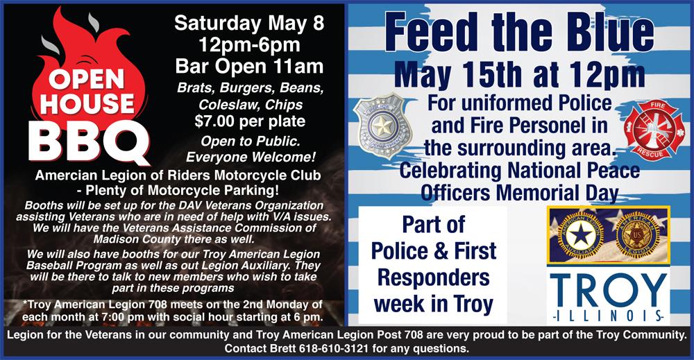 Troy American Legion Events