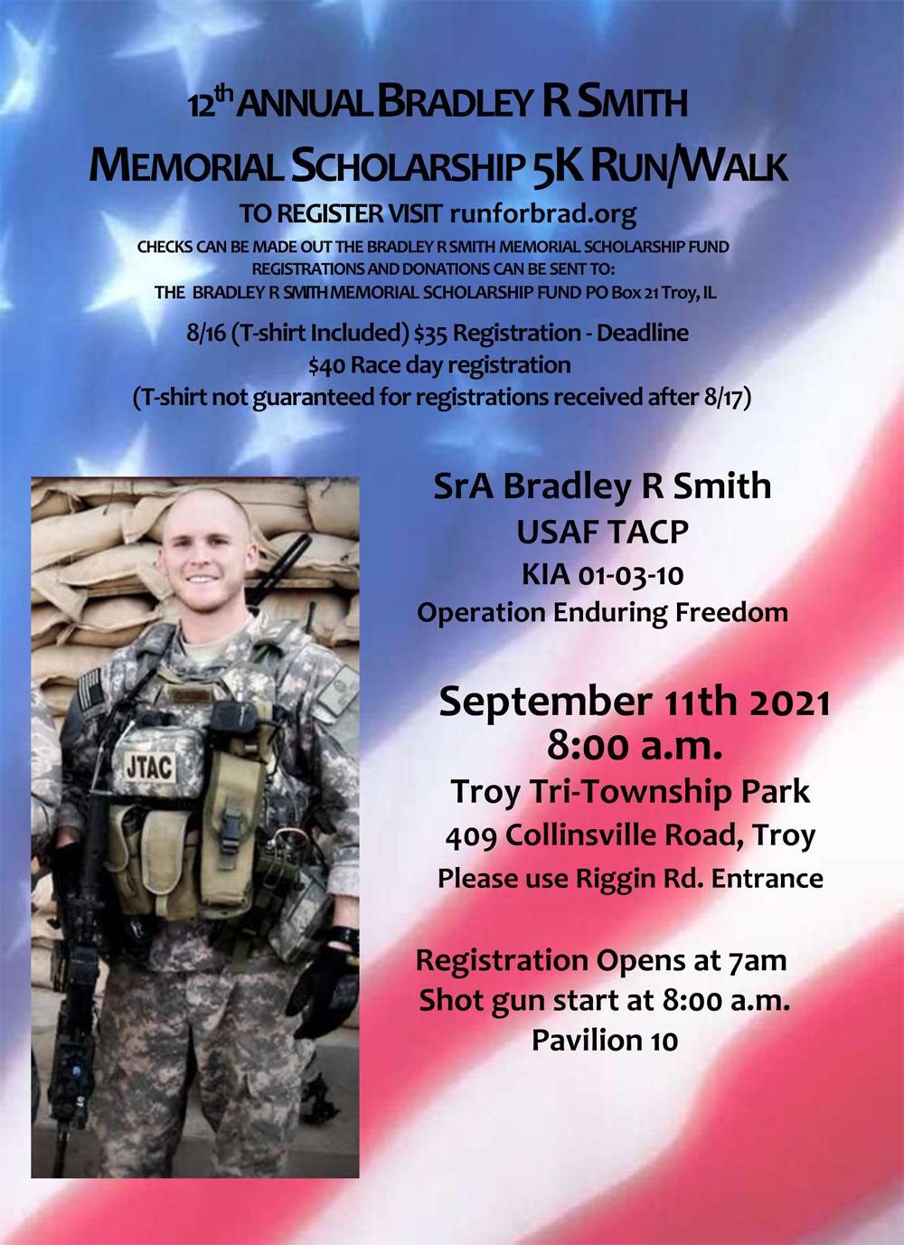 Bradley R. Smith 5K Run/Walk