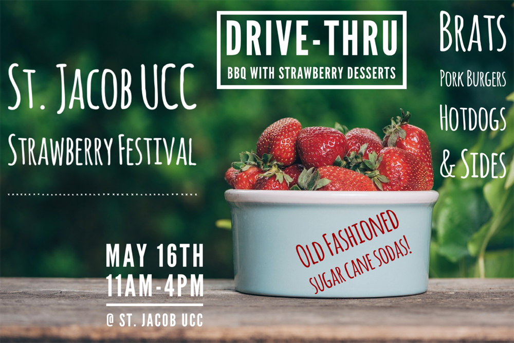 St. Jacob UCC Strawberry Fest