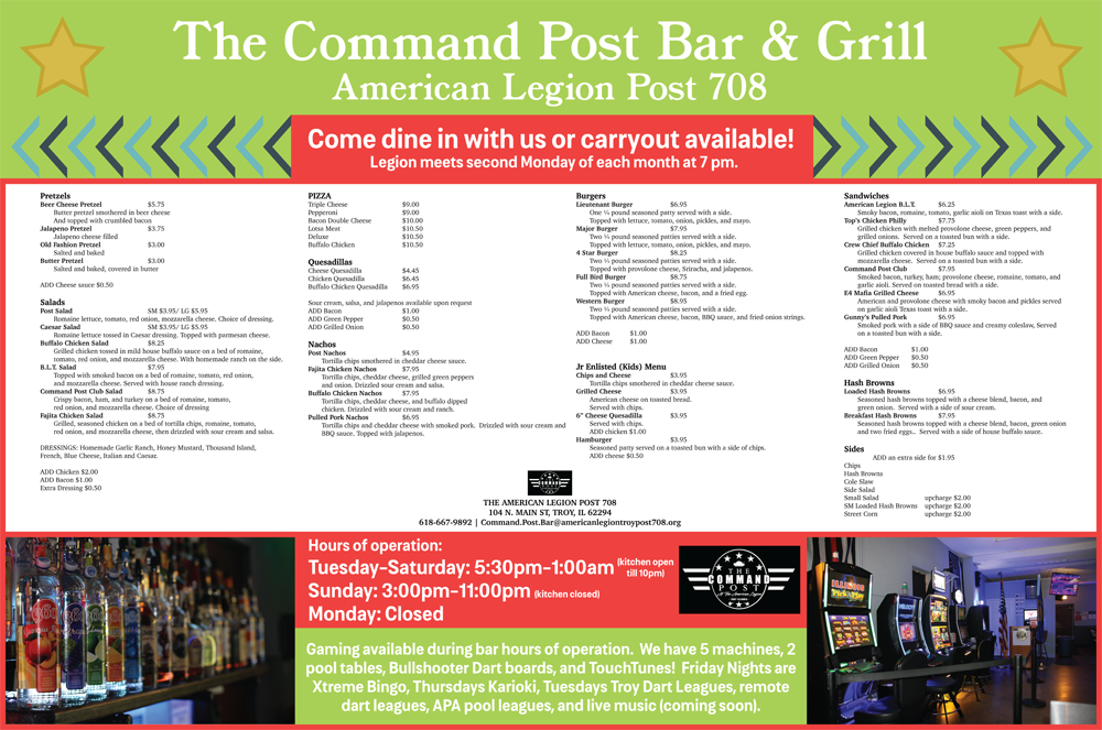 Command Post Flyer