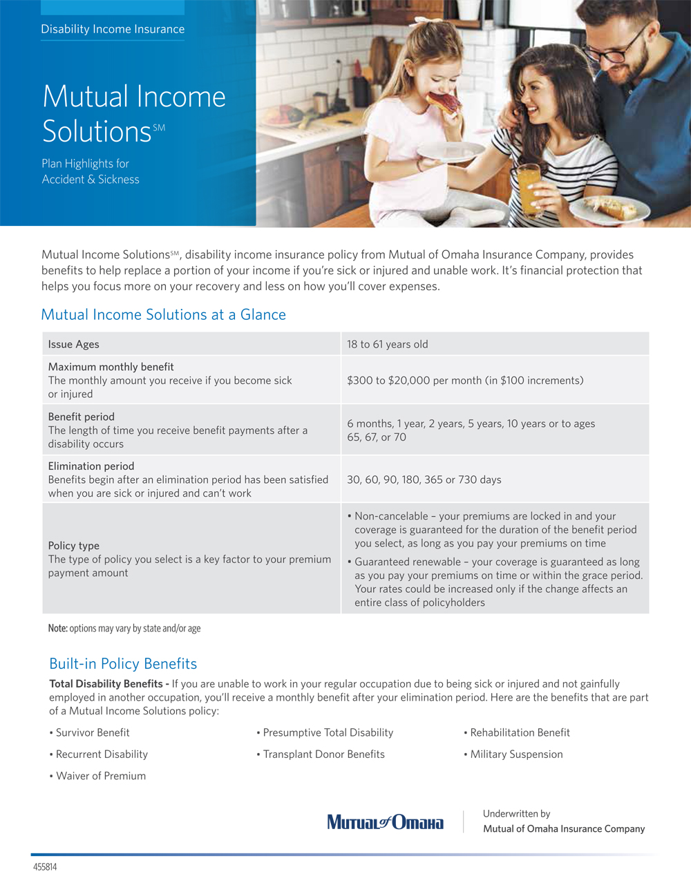 Mutual of Omaha Mutual Income Solutions