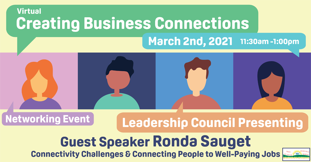 Virtual Creating Business Connections March 2021