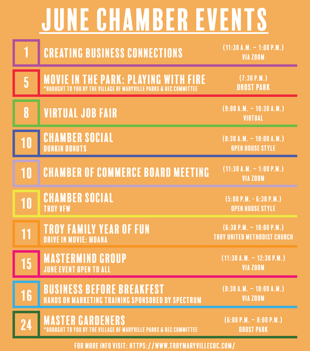 June Networking Events