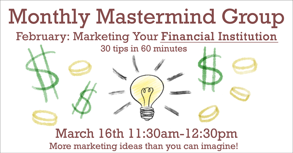 March 2021 Mastermind Group Meeting - Financial
