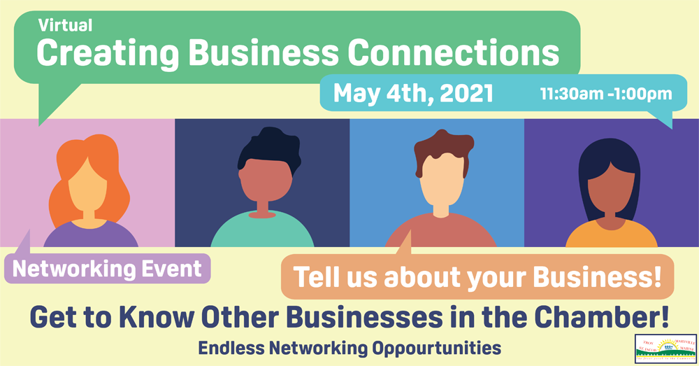 Virtual Creating Business Connections May 2021