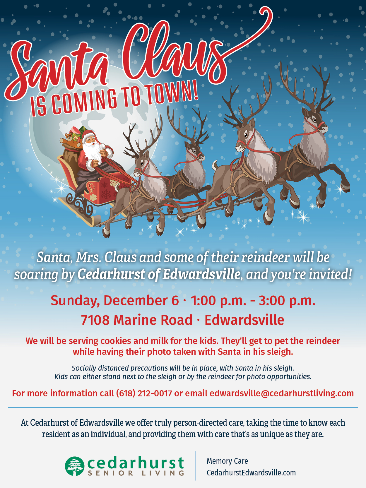Santa Claus is Coming to Town - December 6, Edwardsville IL