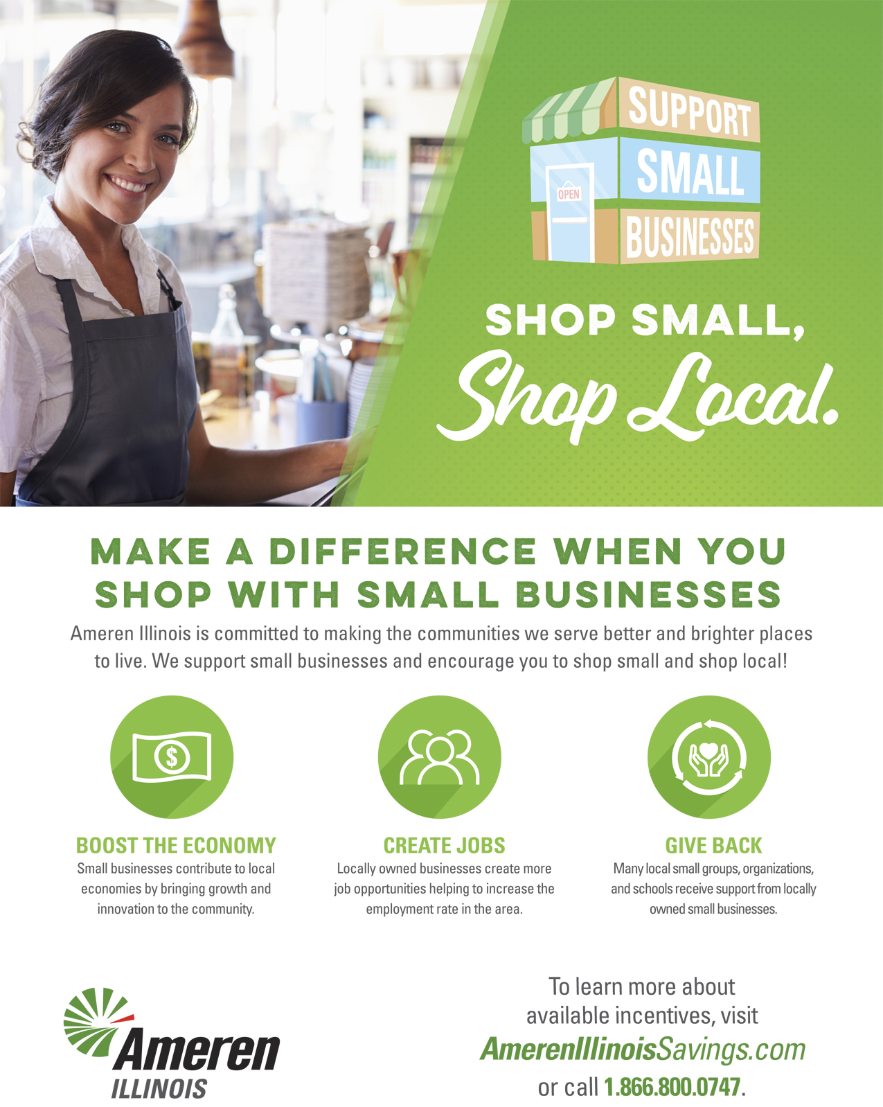 Shop Small, Shop Local Ameren
