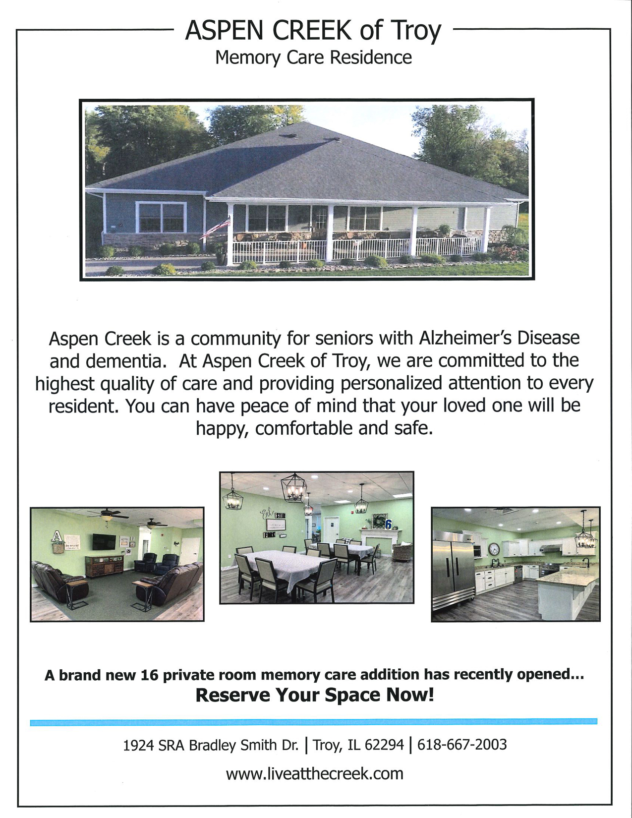 Aspen Creek Flyer
