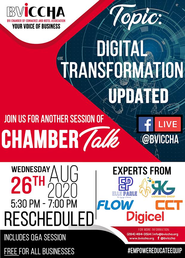 BVICCHA - ChamberTalk - Digital Transformation