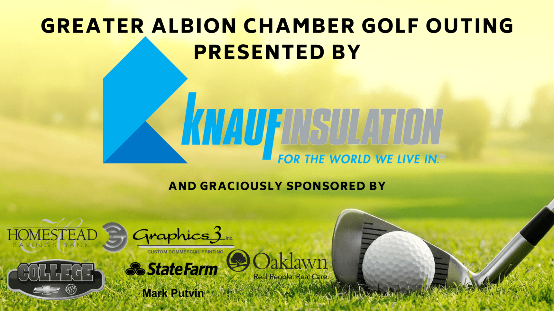 Greater Albion Chamber Golf Outing