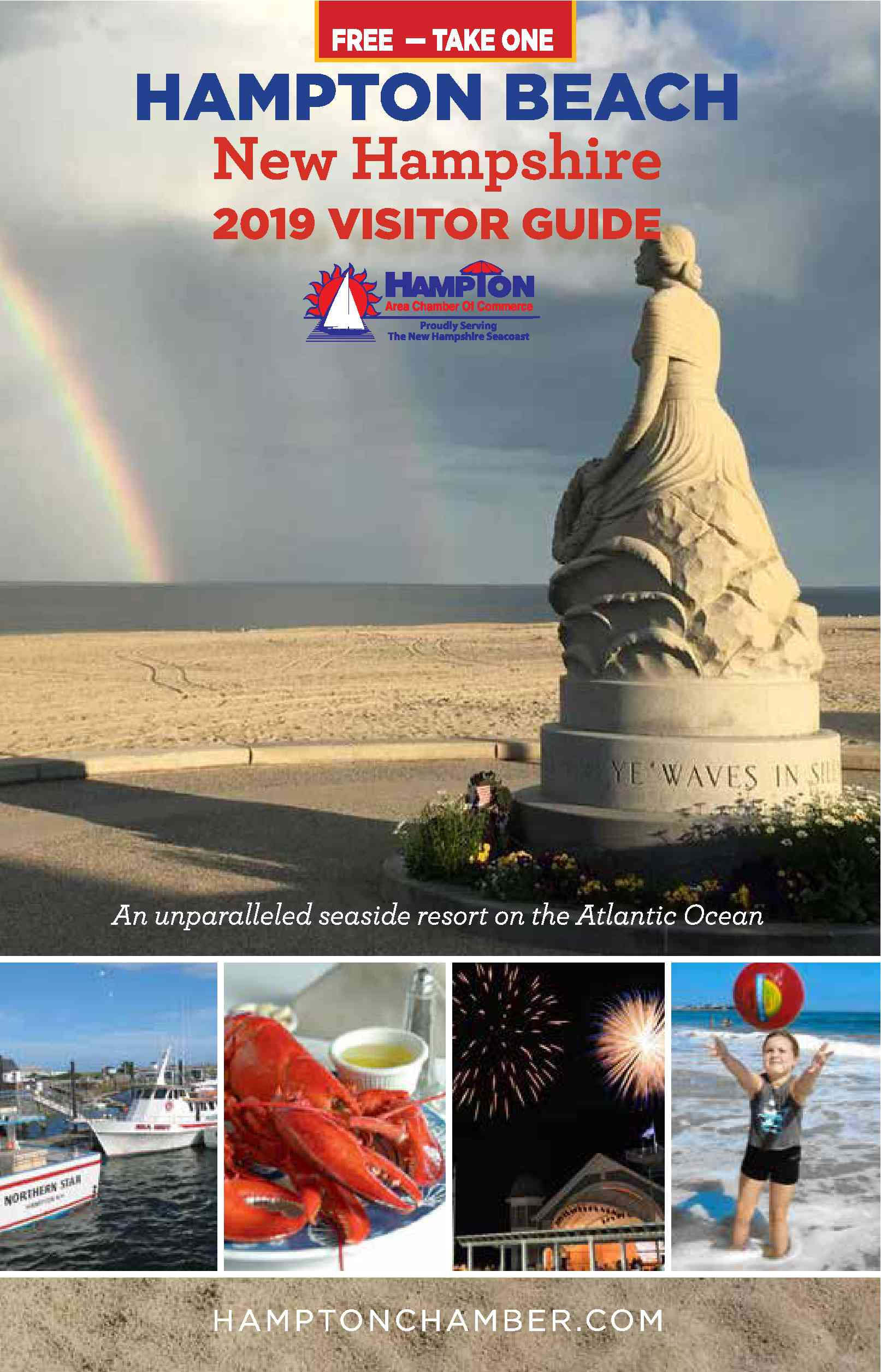 Cover of the 2019 Visitor Guide