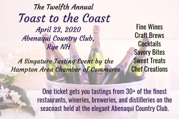 A Signature Tasting Event - Toast to the Coast!