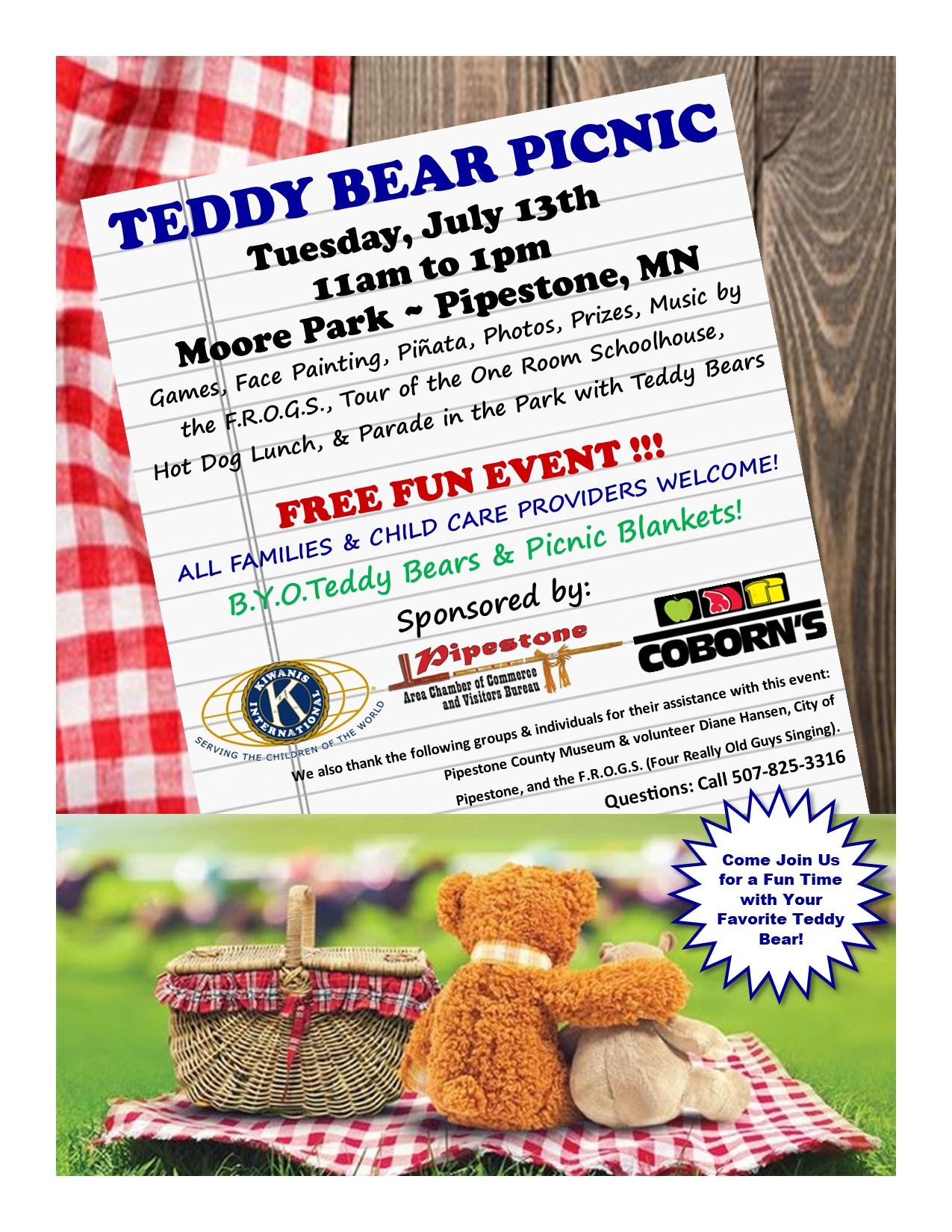 Teddy Bear Picnic Flyer