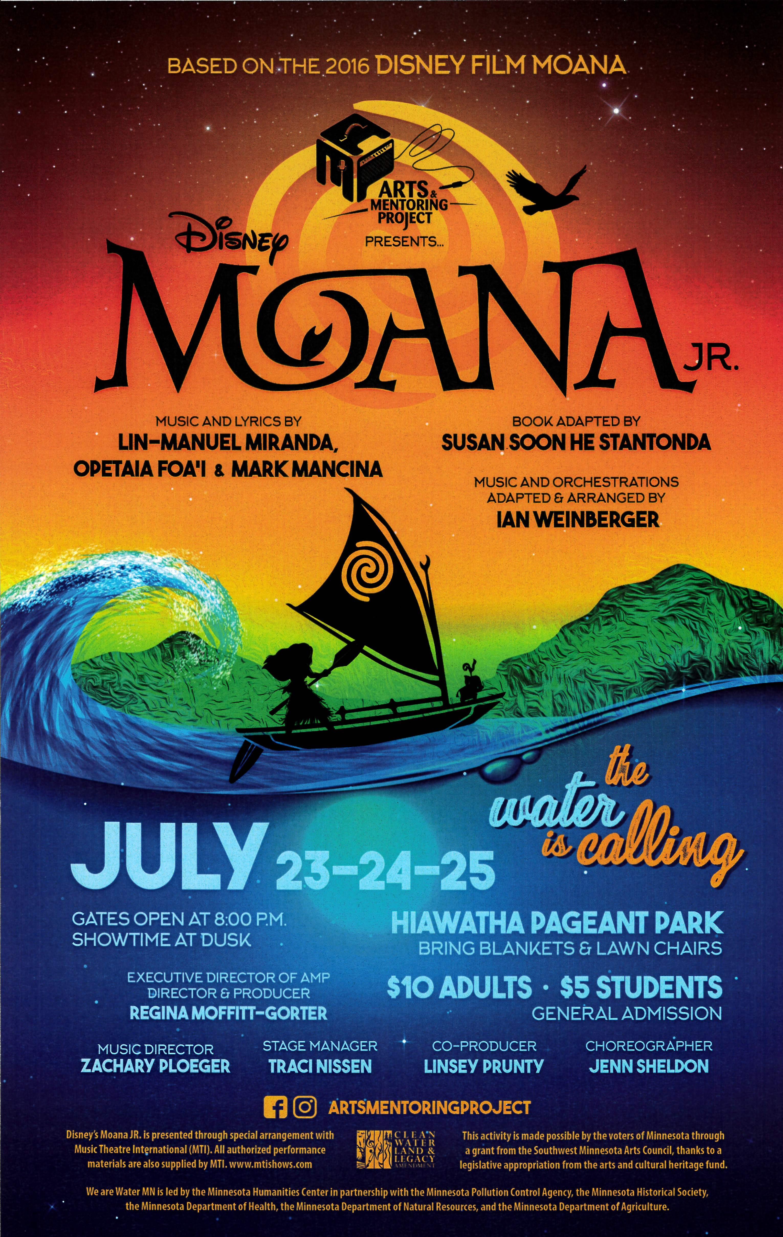 Moana Jr. Poster