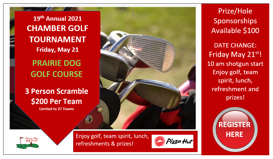2021 Chamber Golf Tournament May 21st, 2021