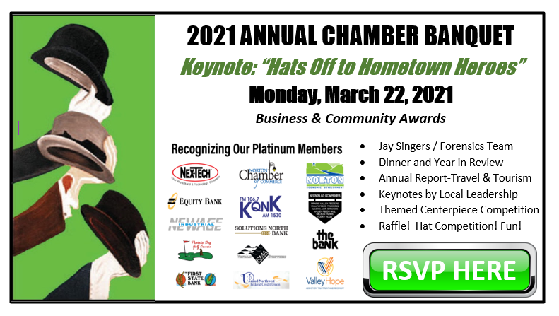 2021 Annual Chamber Banquet Business and Community Awards