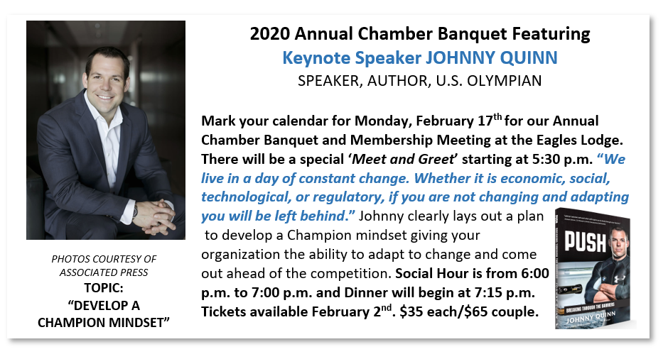 Keynote Speaker: Johnny Quinn, Speaker, Author, U.S. Olympian