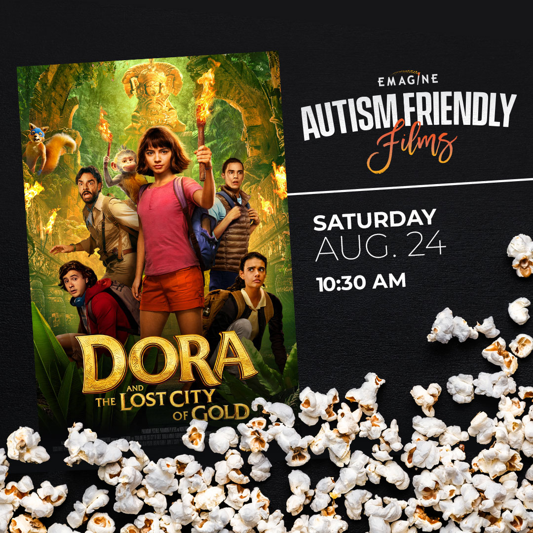 - Autism Friendly Films -Dora & The Lost City of Gold