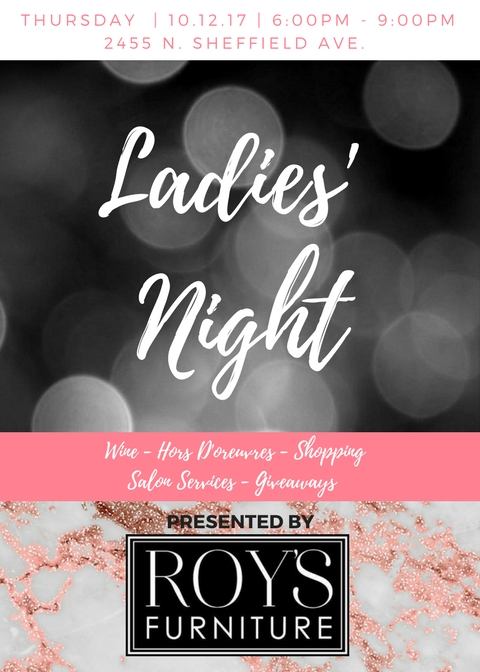 Ladies Night At Roy S Furniture Lincoln Park Chamber Of Commerce