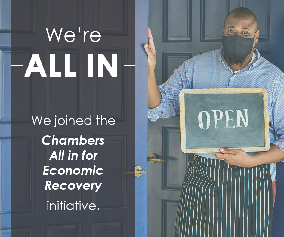 Chambers All in for Economic Recovery Initiative