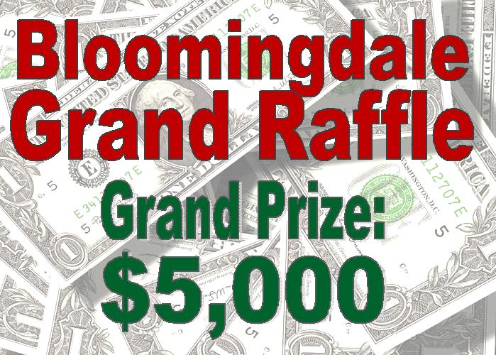 Bloomingdale Grand Raffle
