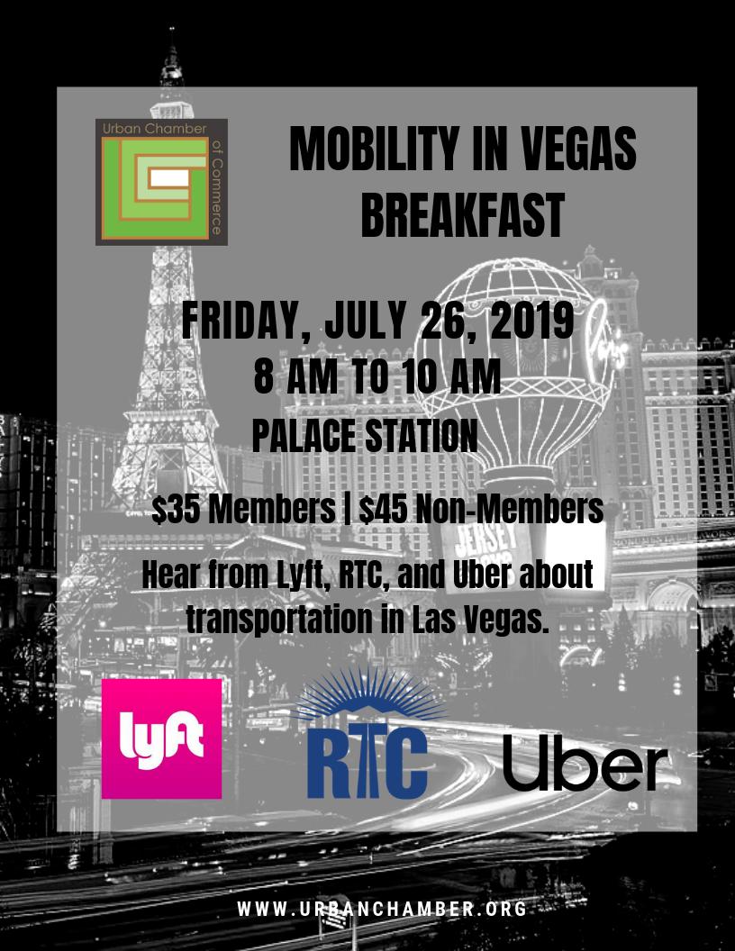 Mobility in Vegas Breakfast