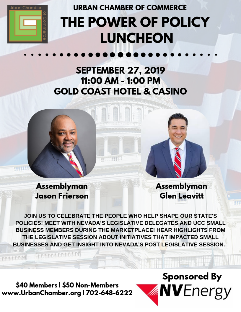 Profits & Policy Luncheon September 27 11:00 am -1:00 pm