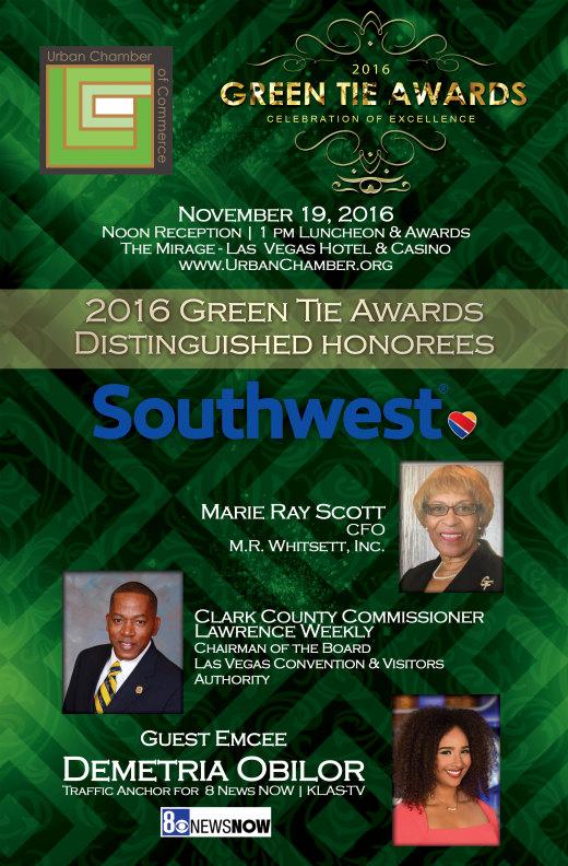 2016 Green Tie Awards