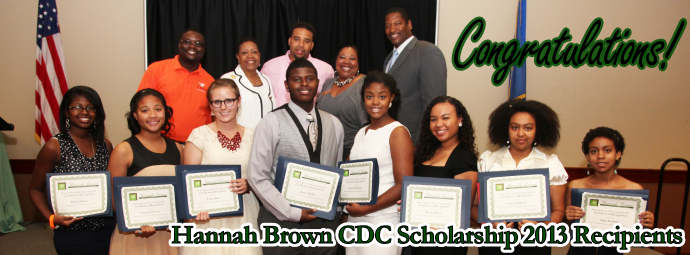 2013 HBCDC Scholarship Recipients