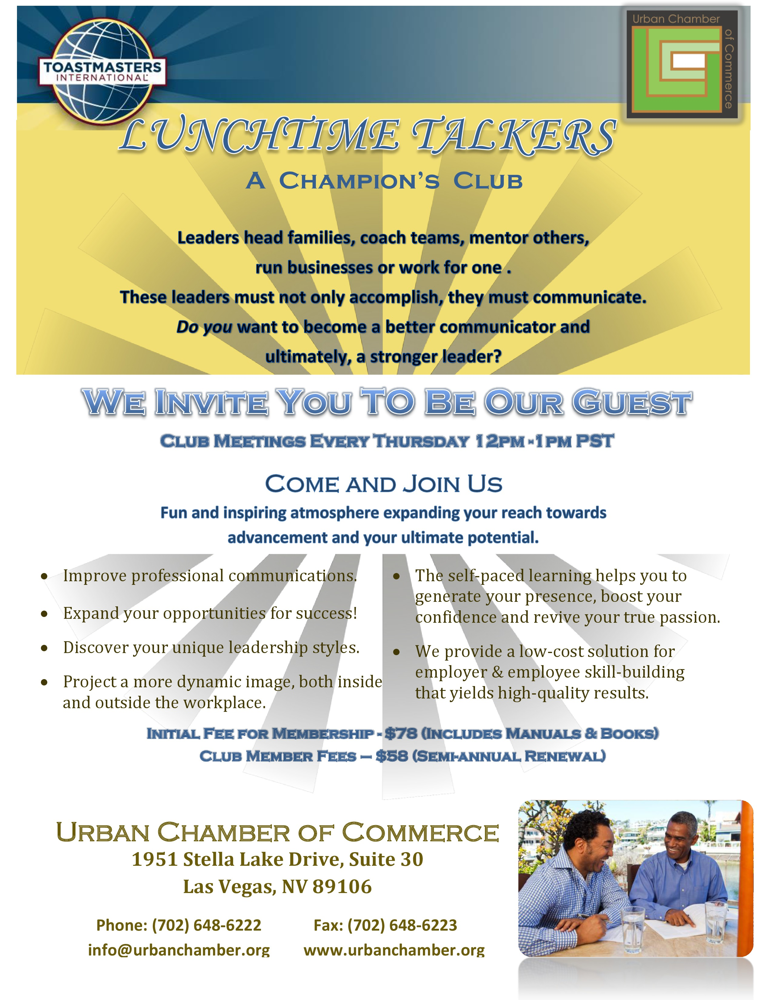 toastmasters lunchtime talkers apr 27 2017 urban chamber of toastmasters lunchtime talkers apr 27 2017 urban chamber of commerce nv