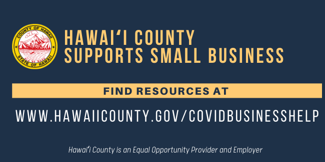 Hawaii County Business Resources