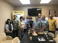 Visit from our Sister Chamber Hatsukaichi Chamber of Commerce!