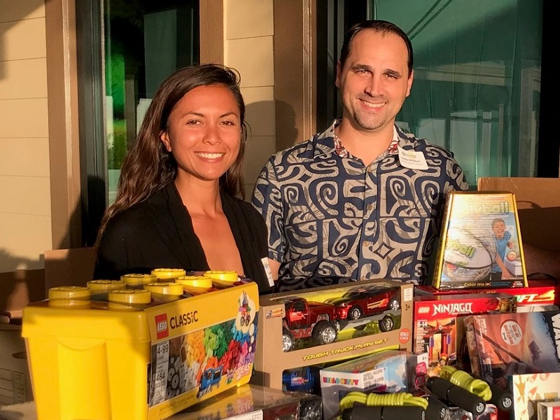 A Time to Give – Mahalo to our Chamber Members!