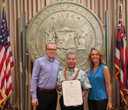 Kona-Kohala Chamber of Commerce Receives Chamber Week Proclamation