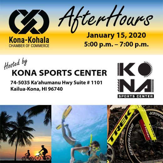 Connect to West Hawai'i's Business Community at January AfterHours