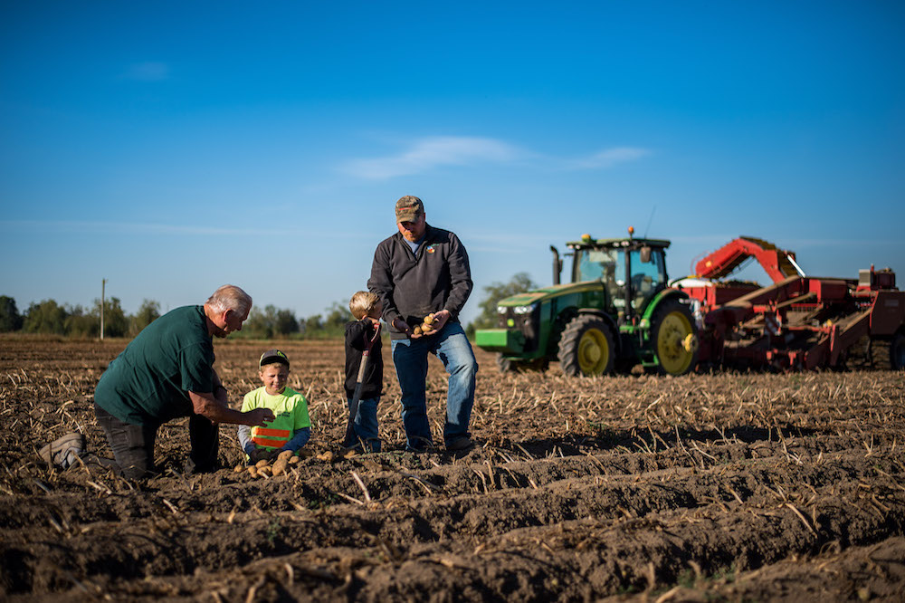 Generations of Ag specialists make the fertile soils productive crops to feed the world