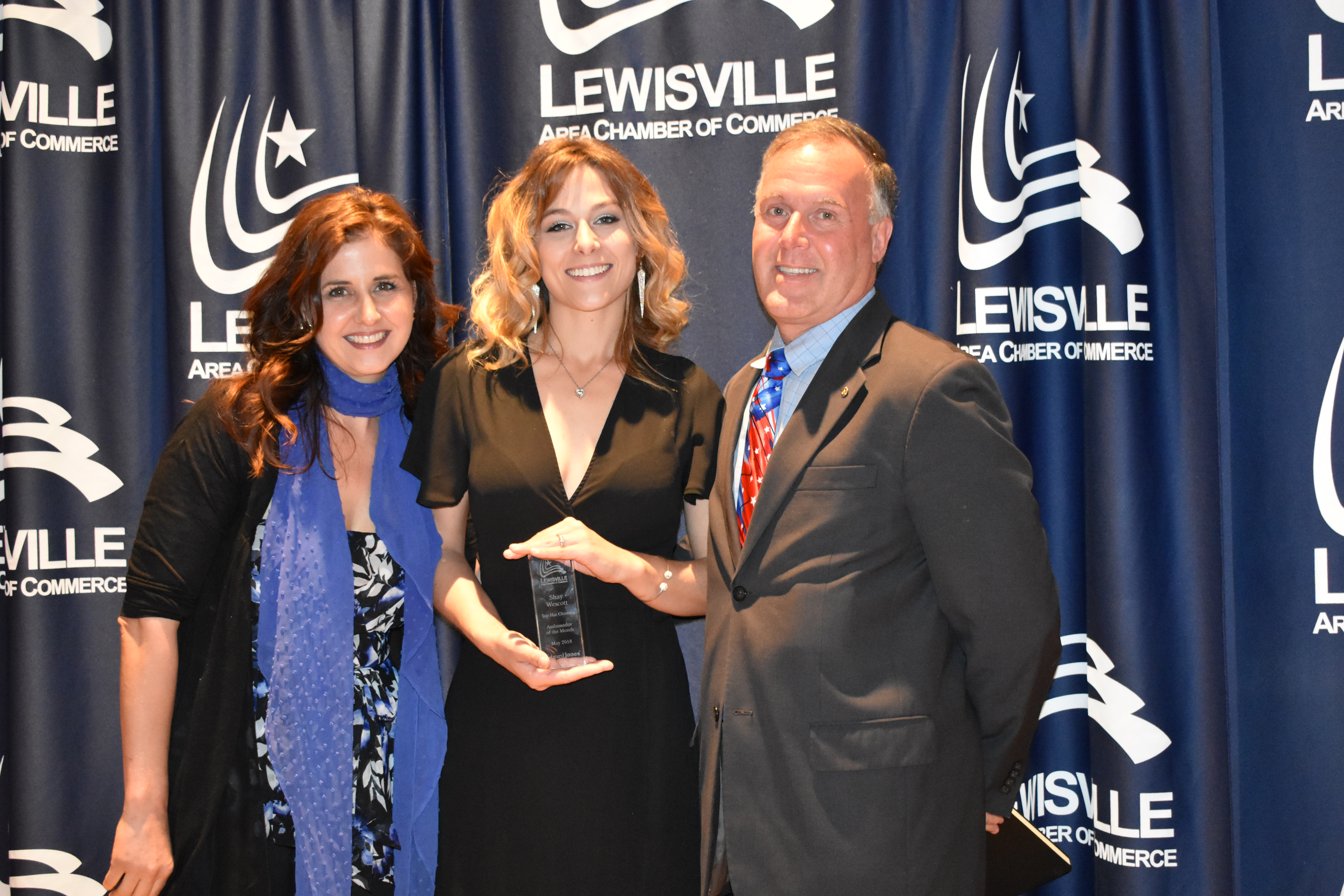 Ambassador of the Month Lewisville Area Chamber of merce TX