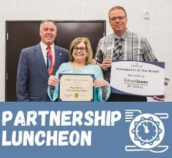 Monthly Partnership Luncheons