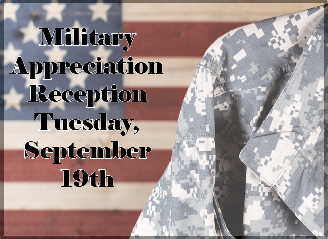 Military Appreciation Reception