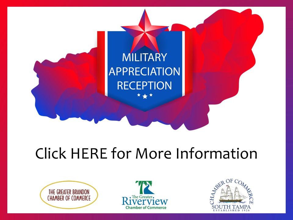 Military Appreciation Reception 2018