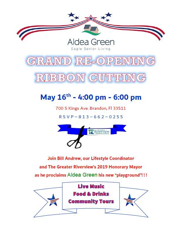 0eec5b45d2b Refreshments will be served at 4 00pm and the ribbon cutting will be at  4 30pm. Aldea Green...remarkable living