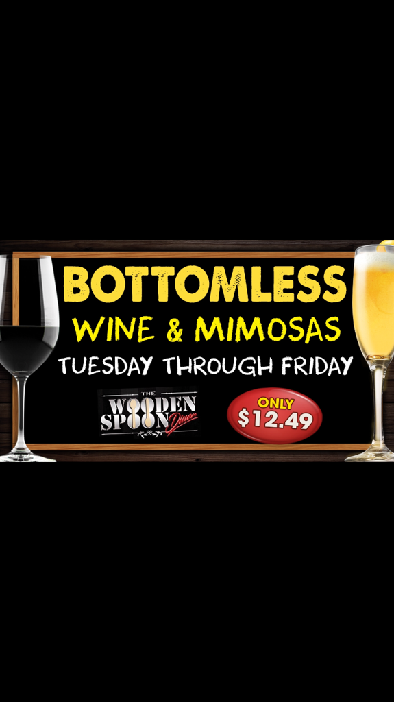 The Wooden Spoon Diner Bottomless Wine Mimosas Hot Deal