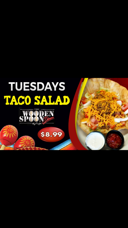 The Wooden Spoon Diner Taco Tuesday Anyone Hot Deal Greater